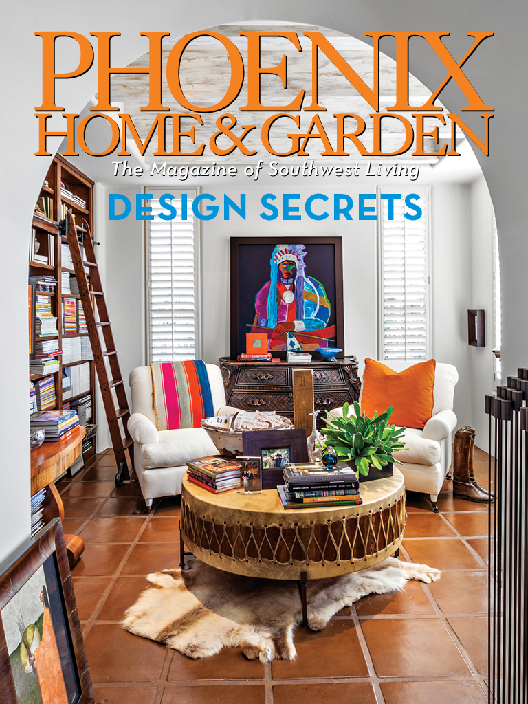 SEPTEMBER 2013 PHOENIX HOME & GARDEN Cover, Mary Meinz  ASID