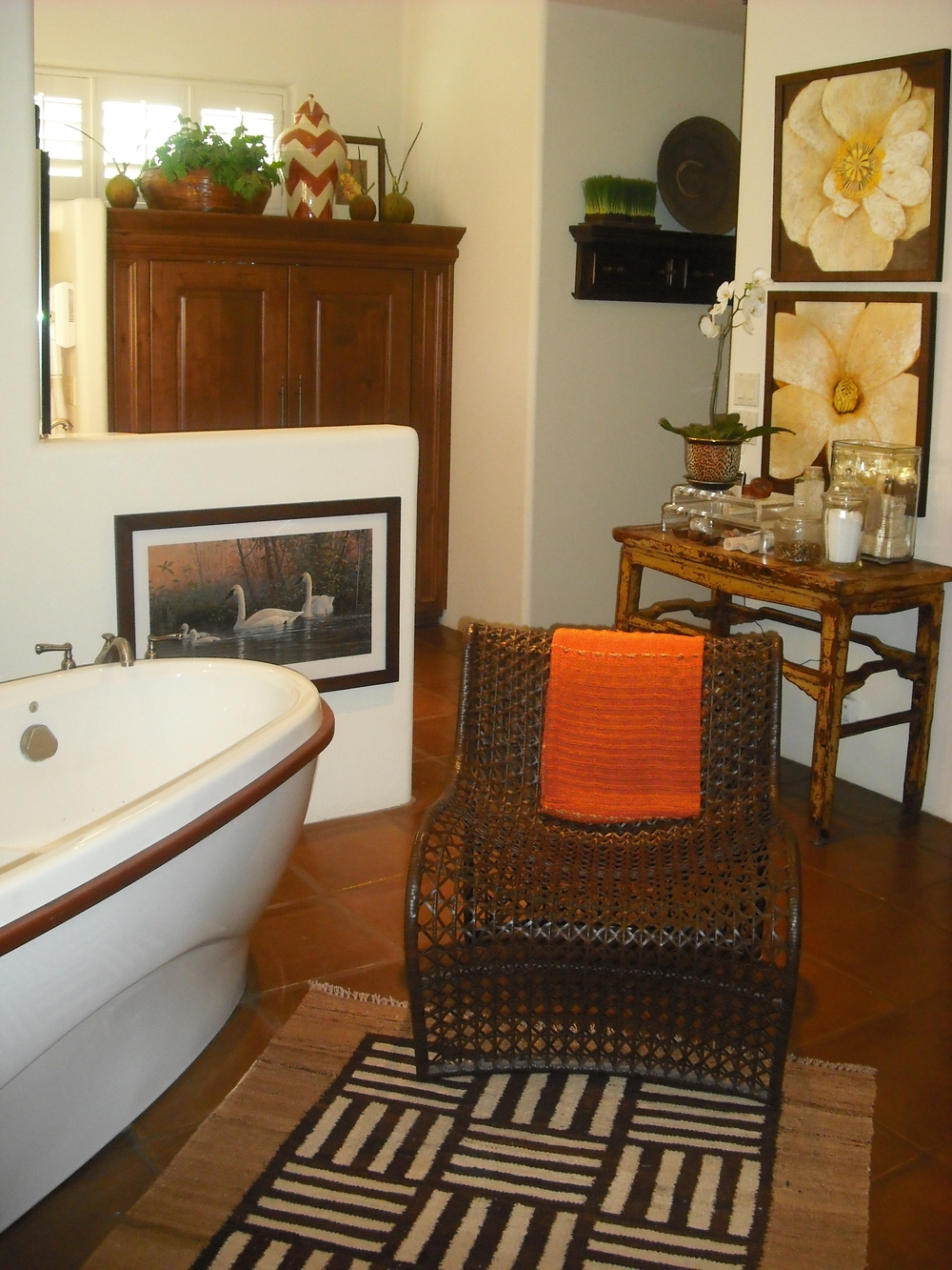 MASTER BATH with spa like comfort