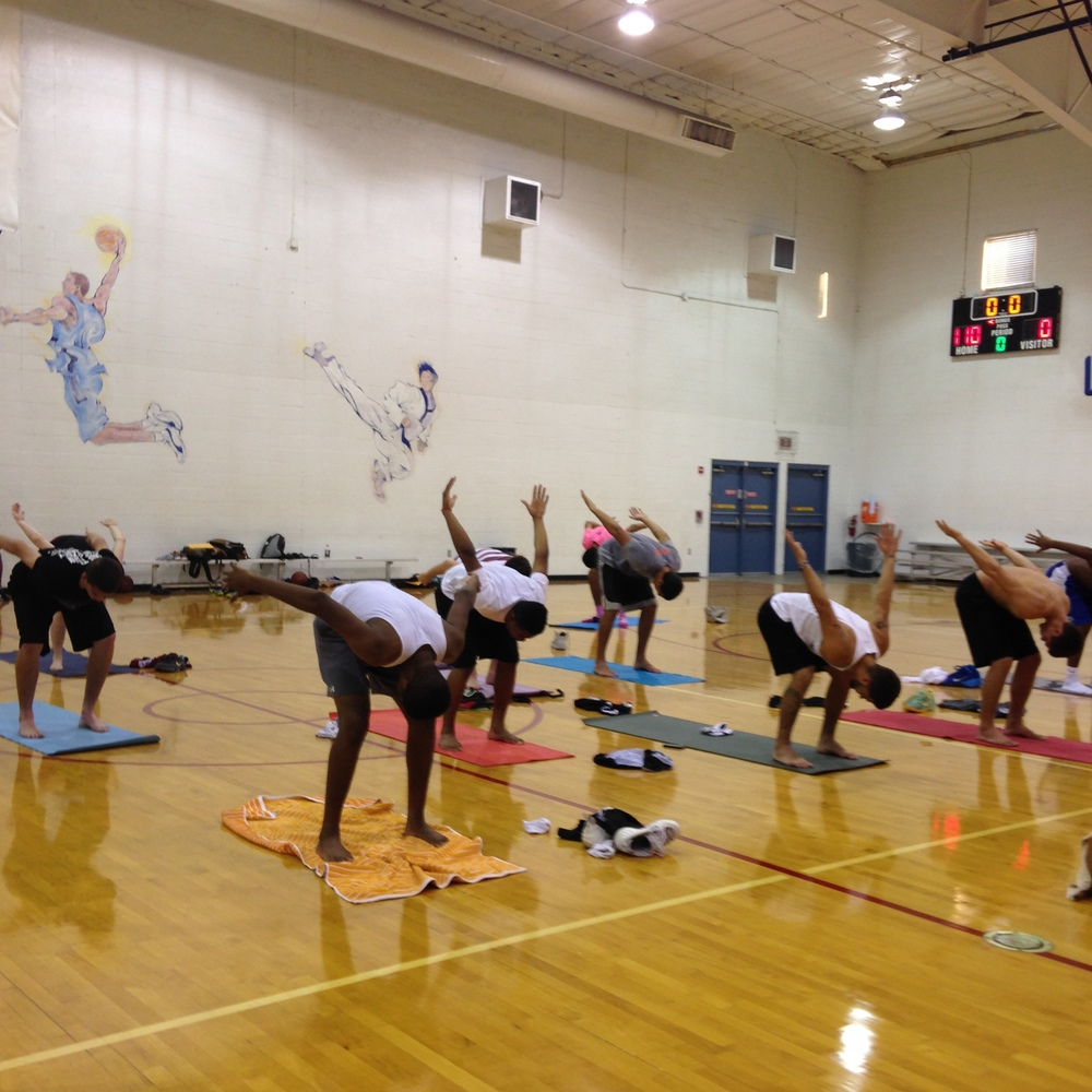 Yoga for basketball