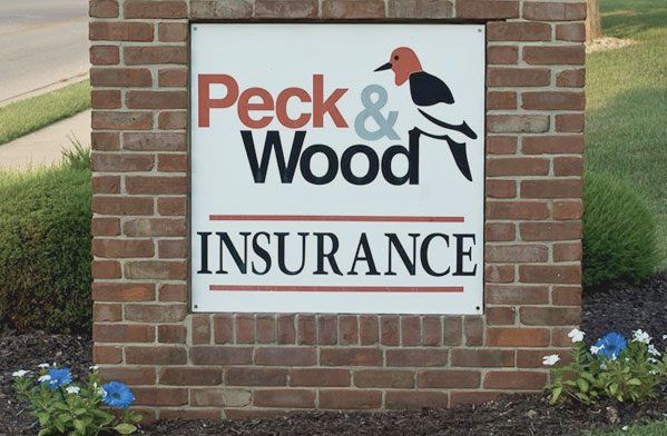 Peck & Wood Sign