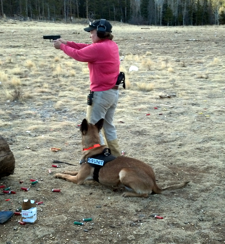 Allison And Atreus At The Range