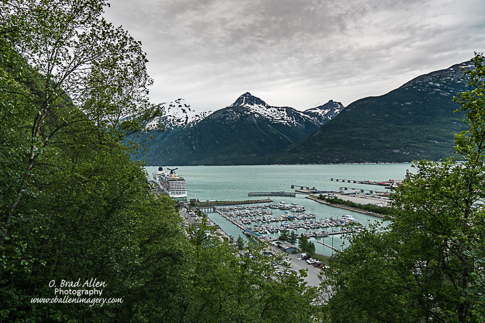 In Skagway Alaska we went for a hike to Dewey Lake it was a strenous 7 mile hike but the next few images are from there.