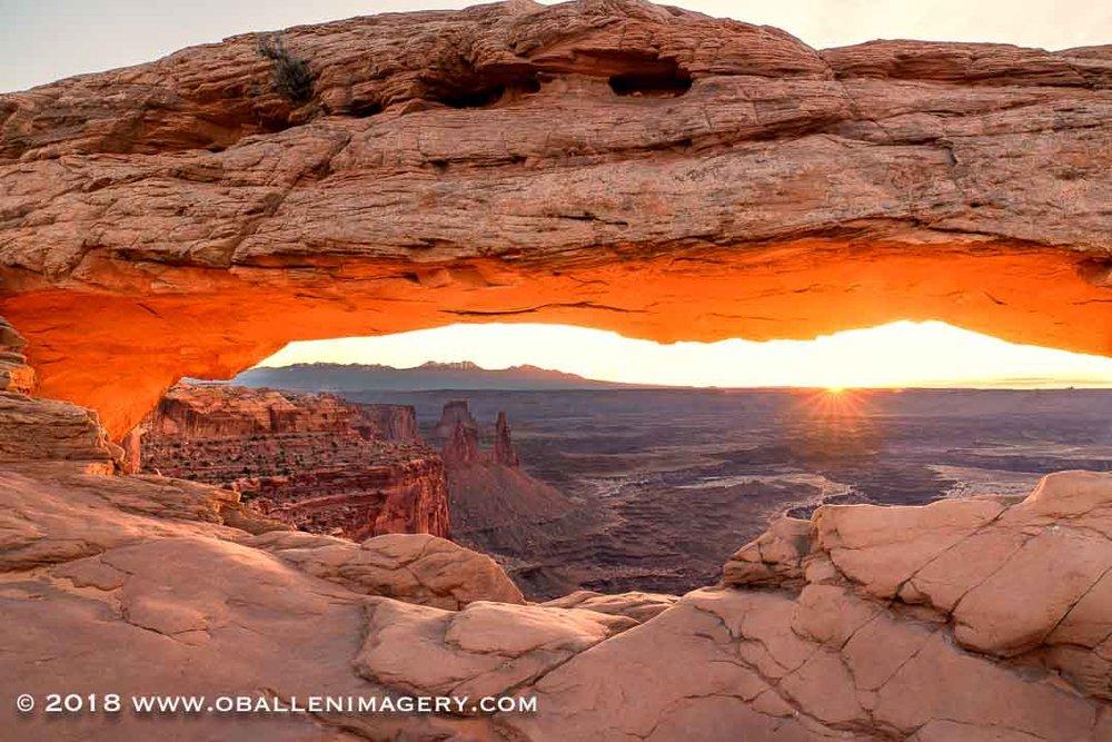 Mesa Arch sunrise.