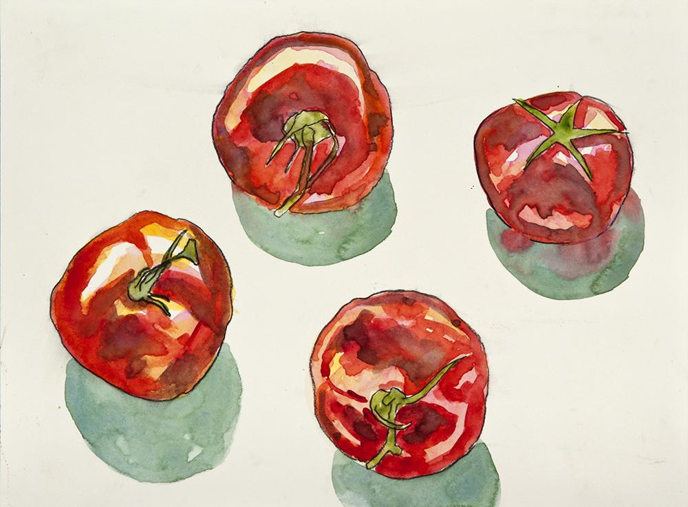 Still Life Tomatoes 3
