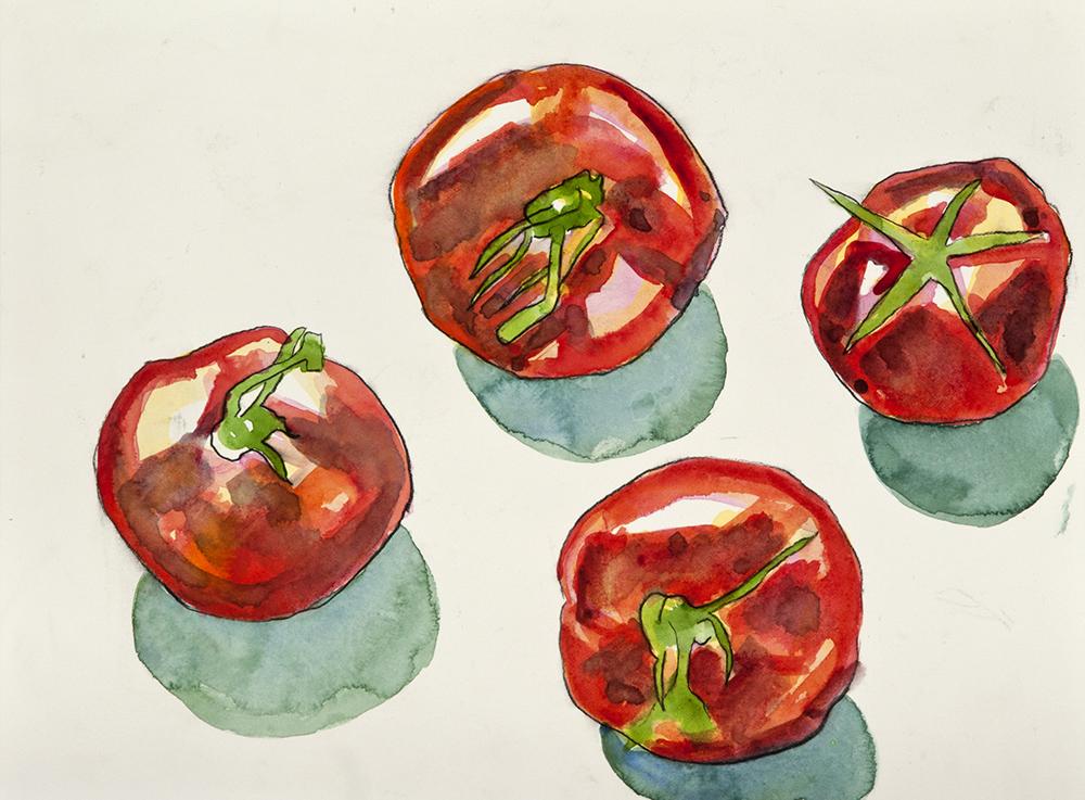 Still Life Tomatoes 2