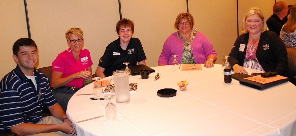 Staff members from the Southwest Michigan United Way at our 2012 Annual Meeting.