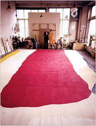 Helen Frankenthaler's studio 1967