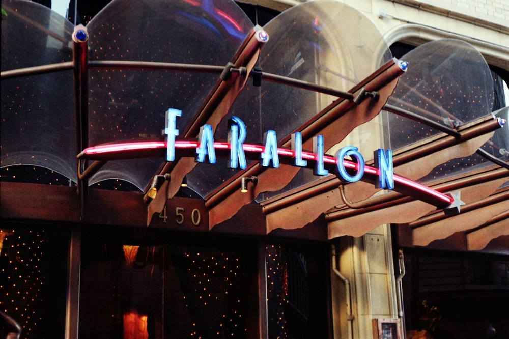 Farallon Restaurant, Post Street, San Francisco, CA.