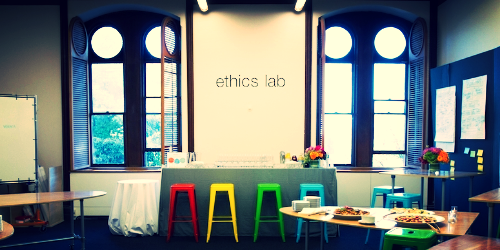 EthicsLab is an innovation lab at Georgetown whose team-based approach unites people on the front lines of complex moral issues with expert bioethicists and designers to create tangible moral change.