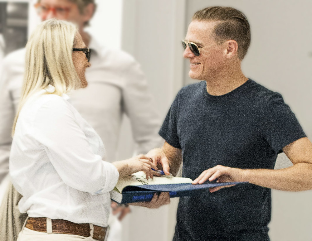 Bryan Adams und Nadja Gusenbauer Foto by Eric Berger