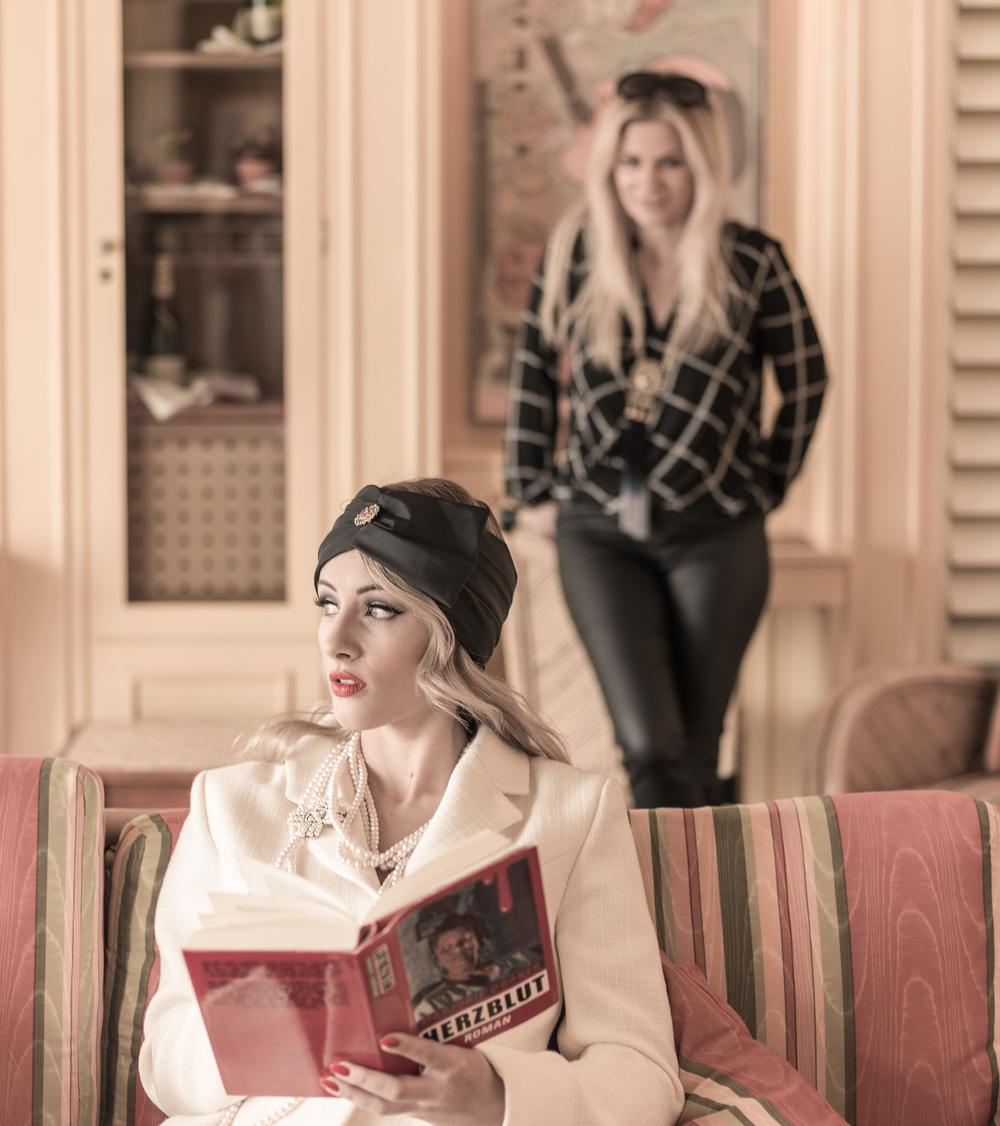 Foto: Eric Berger, Model: Laura, MUA: Diana Mayrhuber (im Bild hinten) für LIK Akademie für Foto und Design