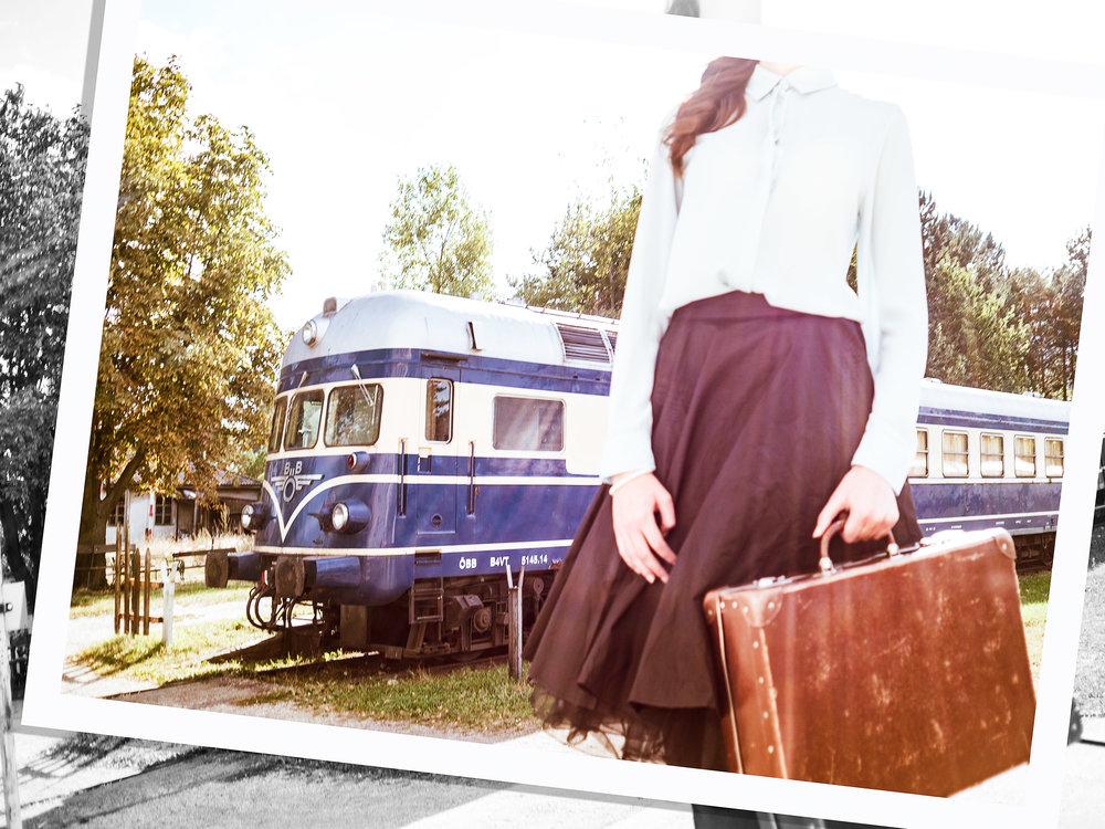 """""""Blauer Blitz"""" Eisenbahnnostalgie im Heizhaus Strasshof by Eric Berger"""