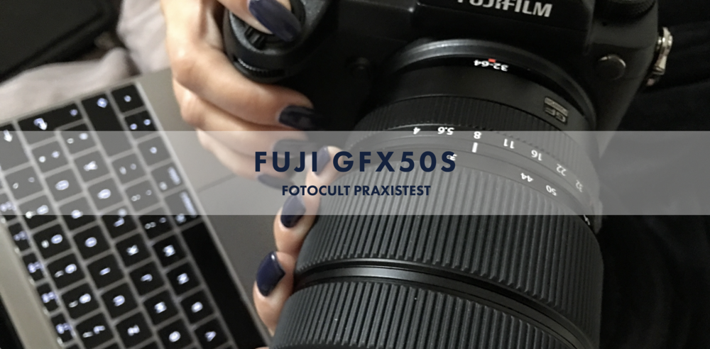 FUJI GFX 50S - Mirrorless Medium Format