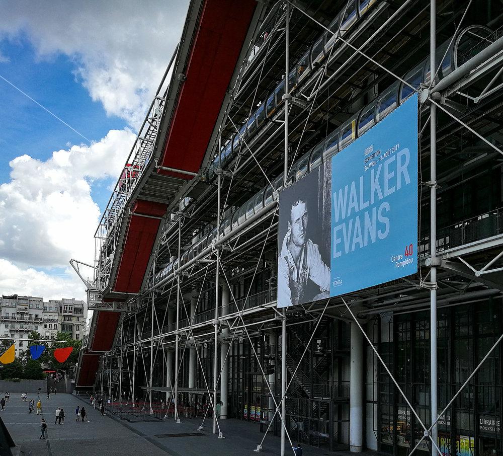 Walker Evans - Fotoausstellung im Centre Pompidou