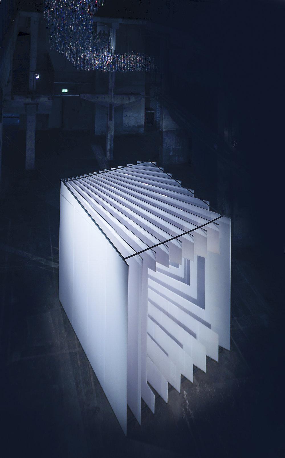 PERSPECTIVE PLAYGROUND - OLYMPUS im Kraftwerk Berlin