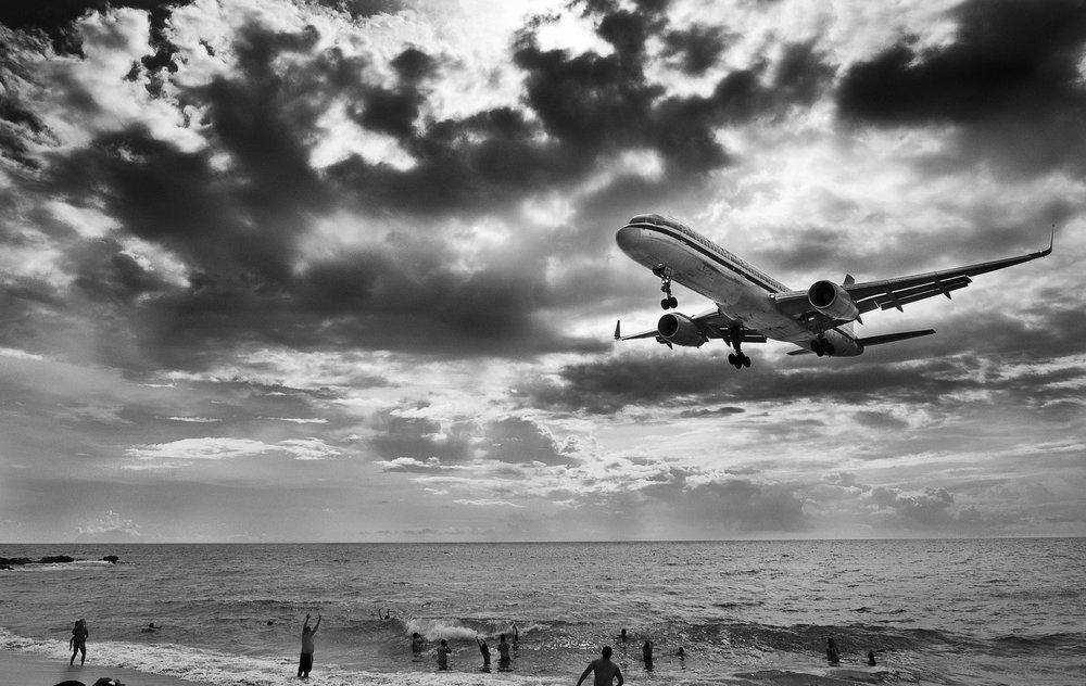 Sint Maarten Airport - Eric Berger