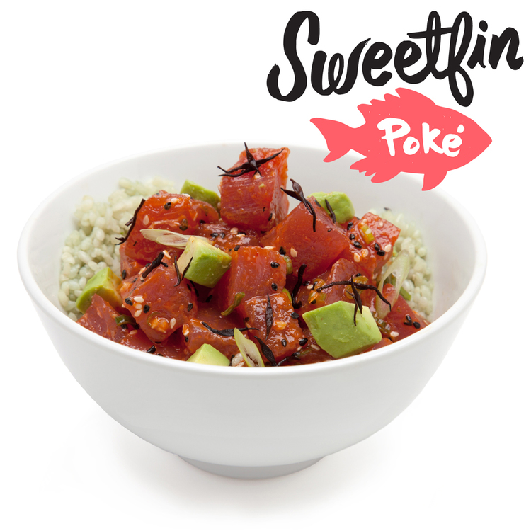 Poké bowl by Sweetfin Poké