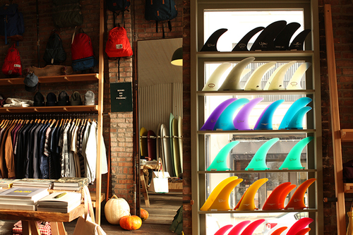 e4fa93911d3015 Pilgrim Surf + Supply is a surfboard oasis to the many ocean-loving New  York surfers. Located in Brooklyn and featuring many preeminent California  surfboard ...