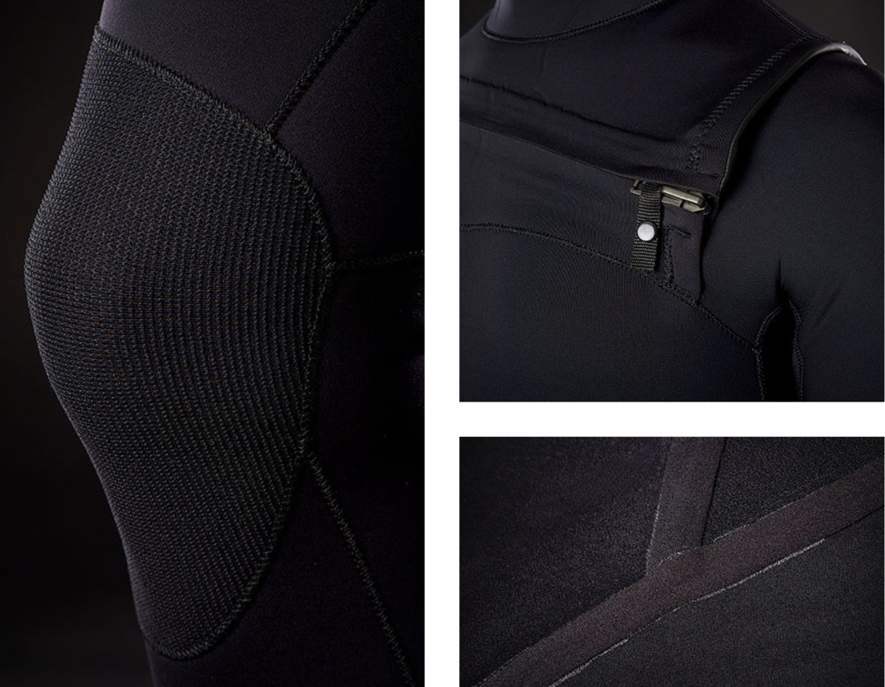 Need Essentials doesn't skimp on materials so you get a lighter, more flexible, and warmer limestone-based wetsuit.