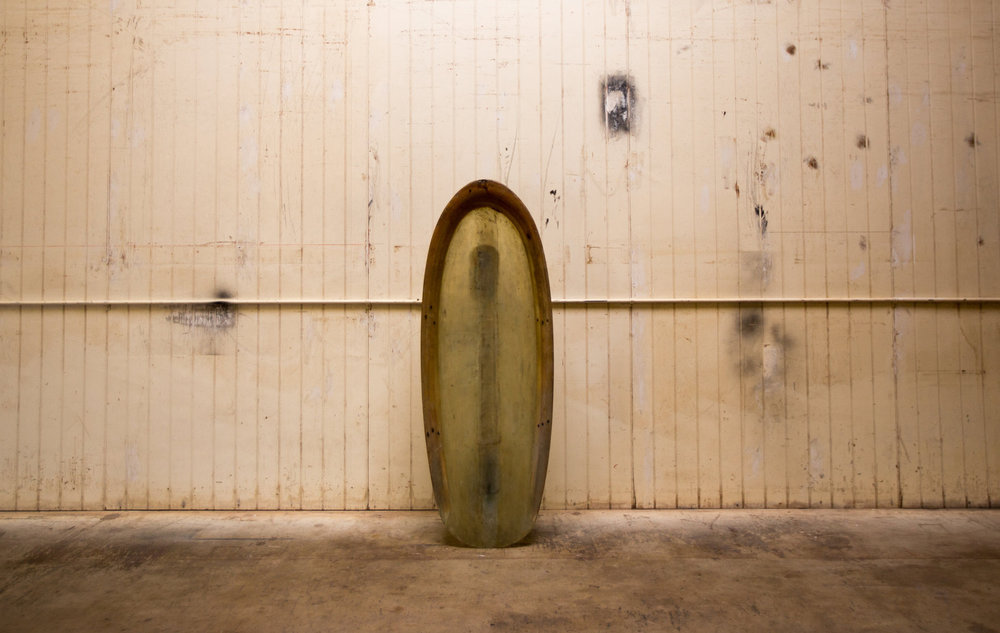 Greenough kneeboard and Yater Spoon. Photo by Wyatt Daily