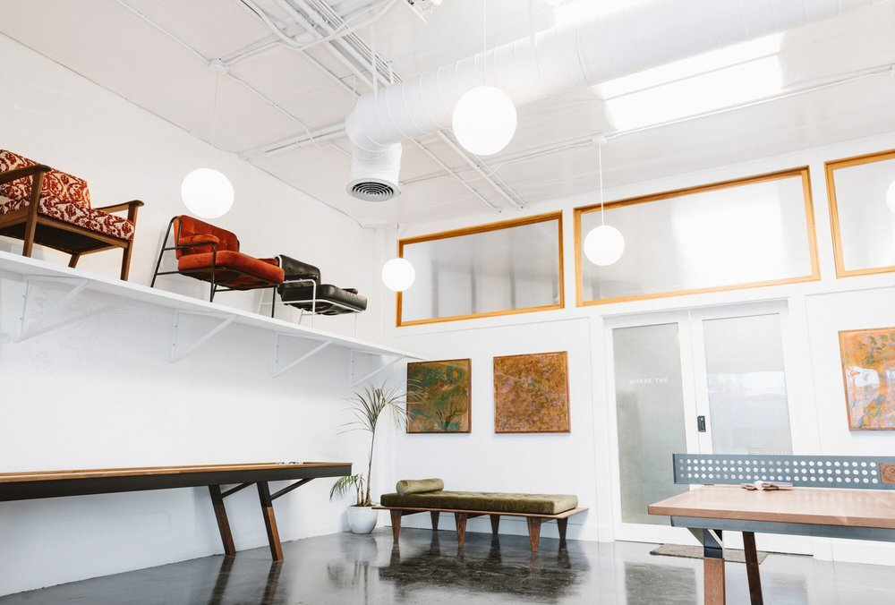 Studio and showroom of Sean Woolsey. Photo by Scott Snyder.