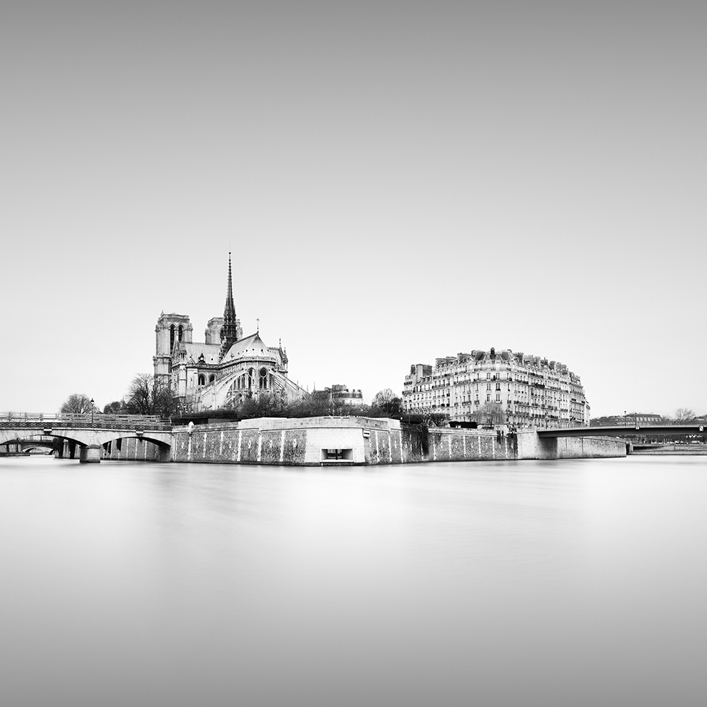 notre-dame - paris, france, 2016   LIMITED EDITION OF: 50  IMAGE SIZES AND PRICES (PRINT ONLY / FRAMED):  30x30 - £145 / £225 - £255  45x45 - £195 / £290 - £335  60X60 - £275 / £465 - £560