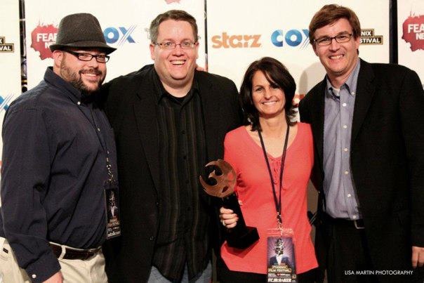 2012 Arizona Filmmaker of the Year  award at the Phoenix Film Festival.