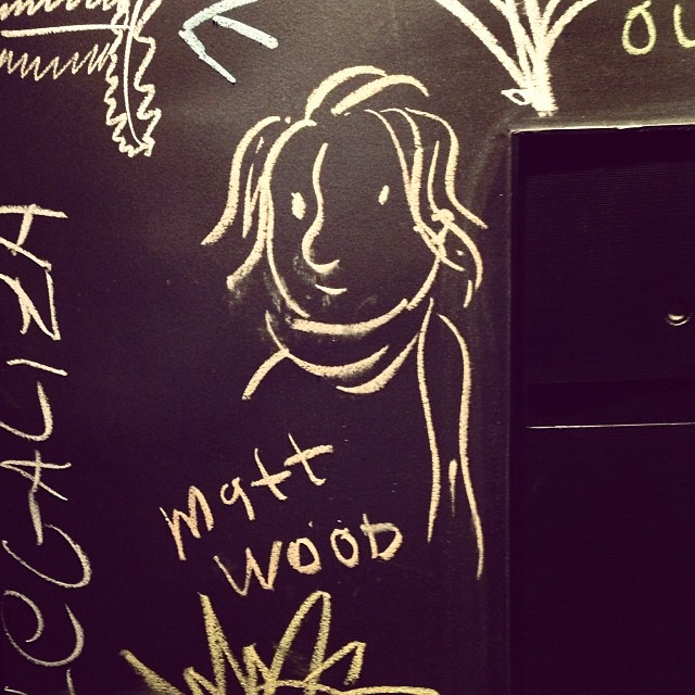 Matt Wood, gallery owner MendesWood.