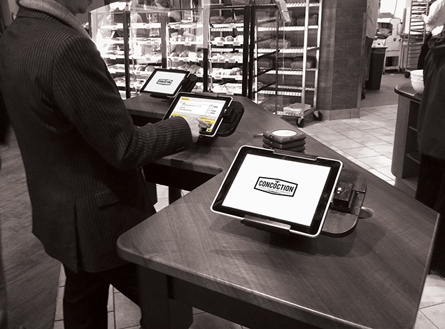 iPad Interactive Ordering POS
