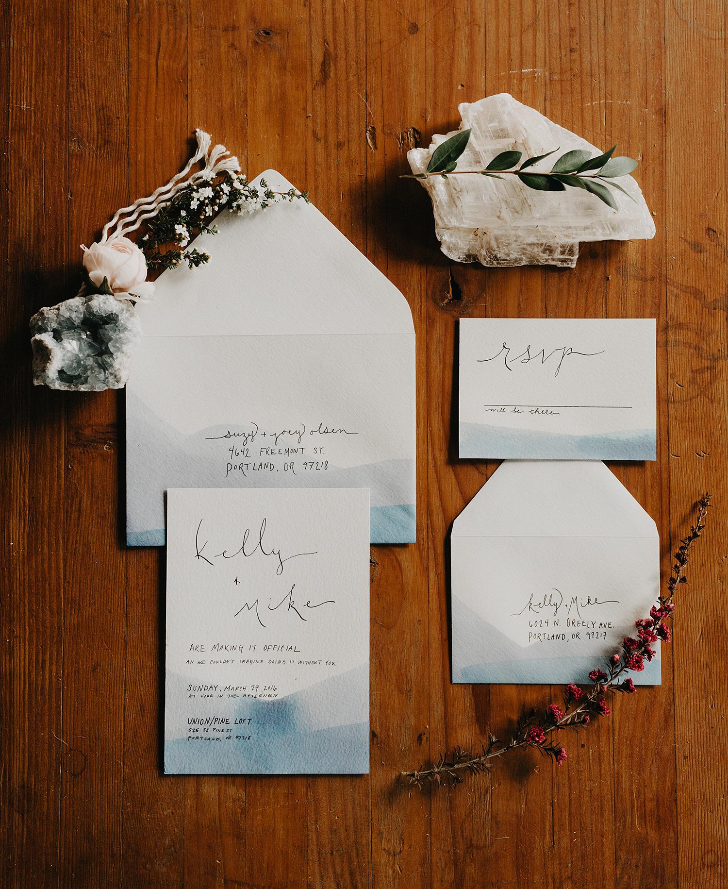 The Loft Invitations — Leigh Ring