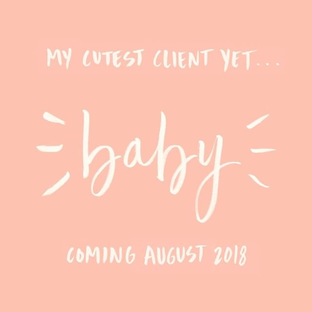 So excited to welcome this little love into the family! Baby girl Choura coming this August 💕