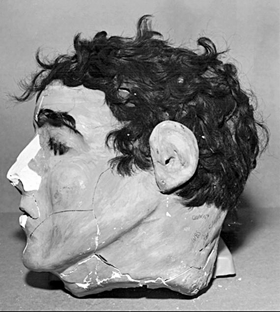 Dummy mask my cousin used to escape from Alcatraz.