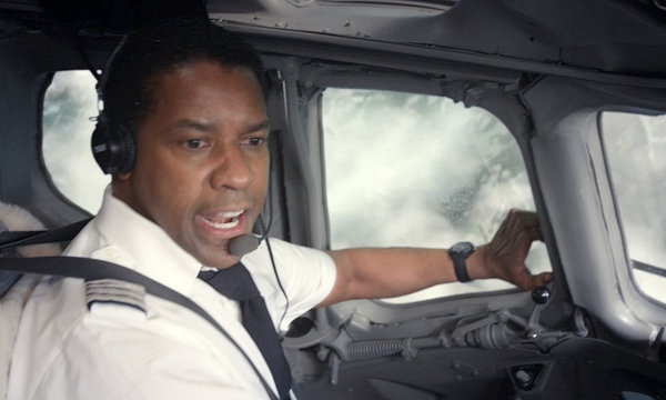 Only person with worse in-flight Scaries than I had this weekend was Denzel Washington in Flight.