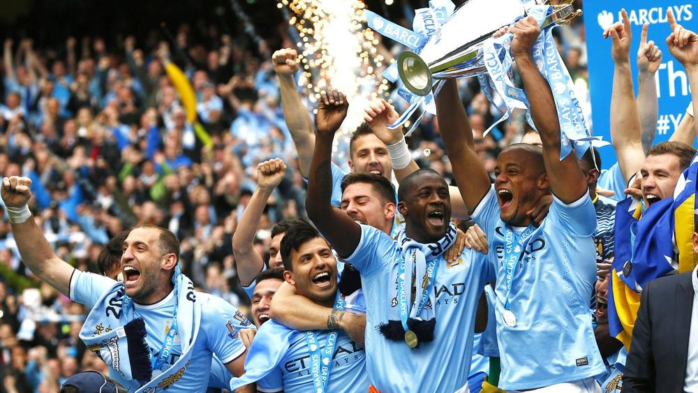 Man City is comprised of 99% twats but they're champions and I'll respect that.