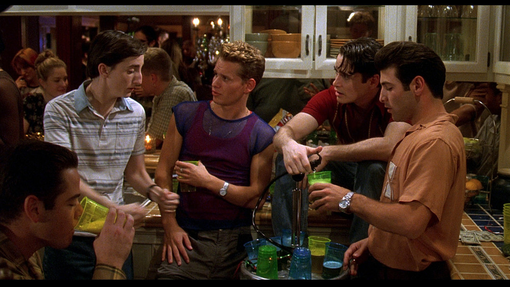 Even William Lichter didn't want to be sober at the Can't Hardly Wait party.