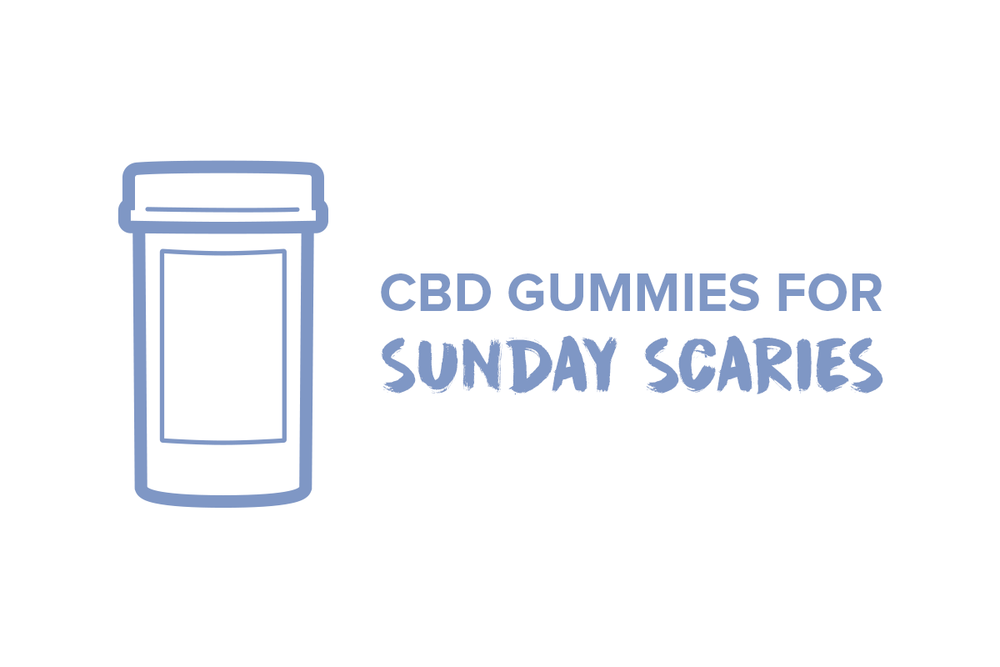 Sunday Scaries CBD Gummies For Anxiety
