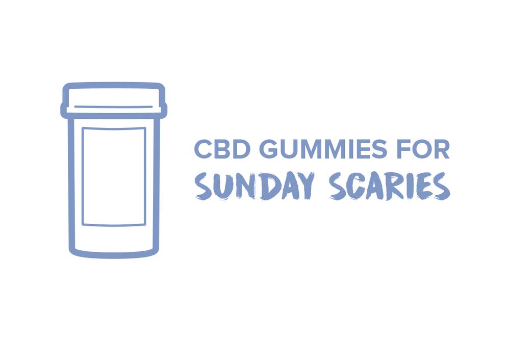 Sunday Scaries CBD Gummies For Anxiety