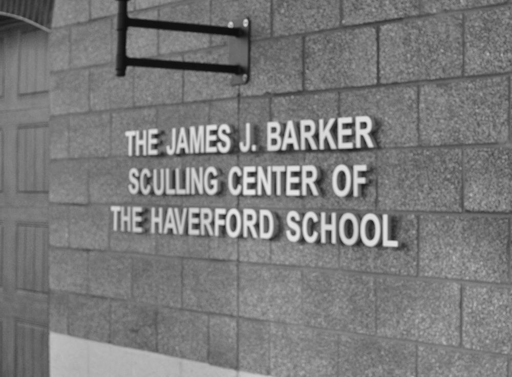 The James J. Barker Sculling Center of The Haverford School