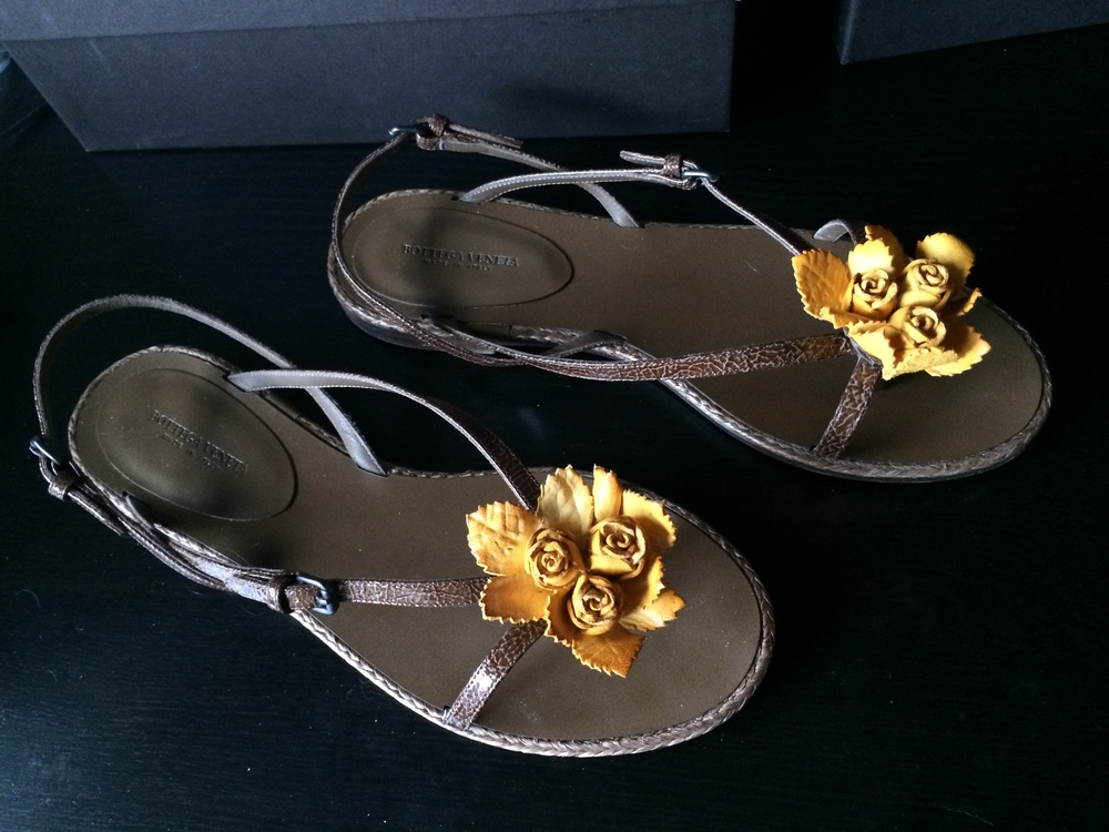 BV sandals - consign.JPG