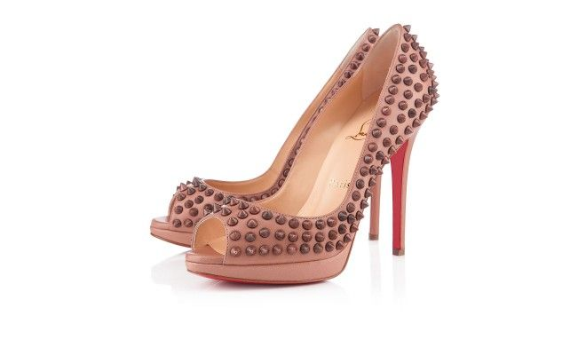 I need a pair of Loubi spikes and this pair of nude Yolandas are super sexy. I love that the spikes and leather are tone on tone instead of the usual super blingy contrast. My only concern is that Louboutin peep toes tend to be uncomfortable for me.