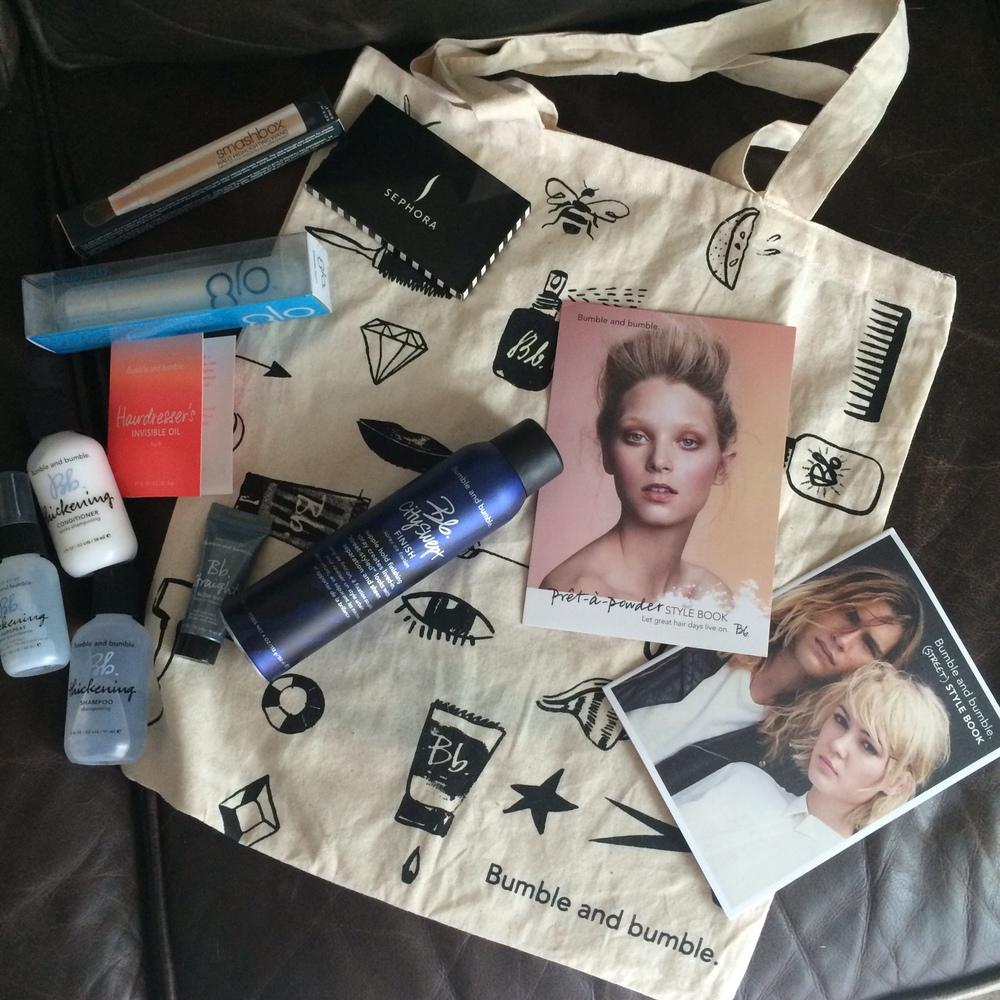 gift bag swag!
