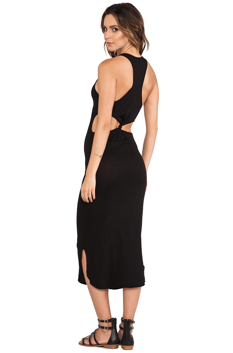 I love classic pieces with a twist like this simple maxi dress with cutouts. 291, $89
