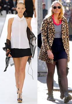 Left, Gemma during her original modeling career. Right, Gemma plus 30-40 pounds.