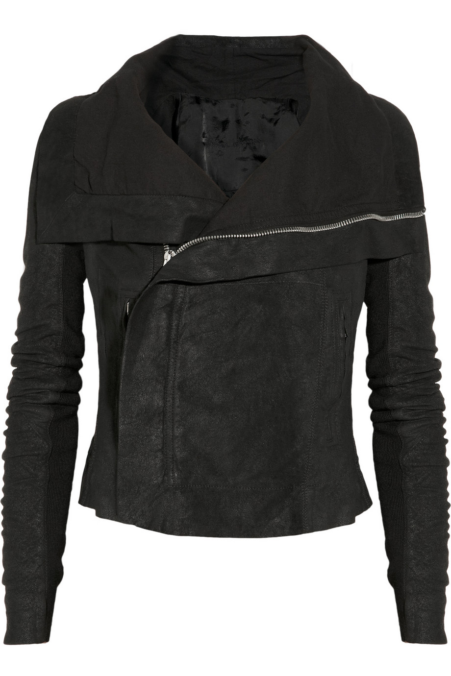 Rick Owens biker jacket - $2,620 at  Net-a-porter