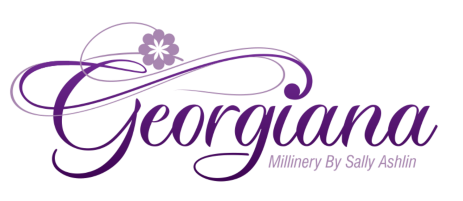 Georgiana - Millinery By Sally Ashlin
