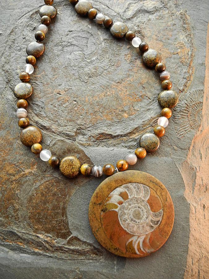 Ammonit Marokko