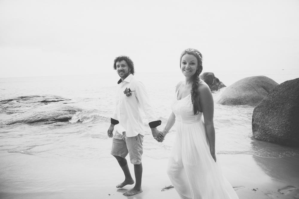 kim jay weddings, beach