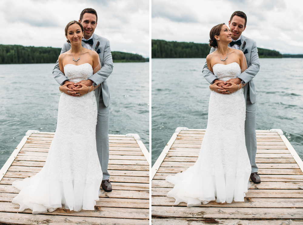 Victoria destination wedding photographer - Clear Lake Manitoba