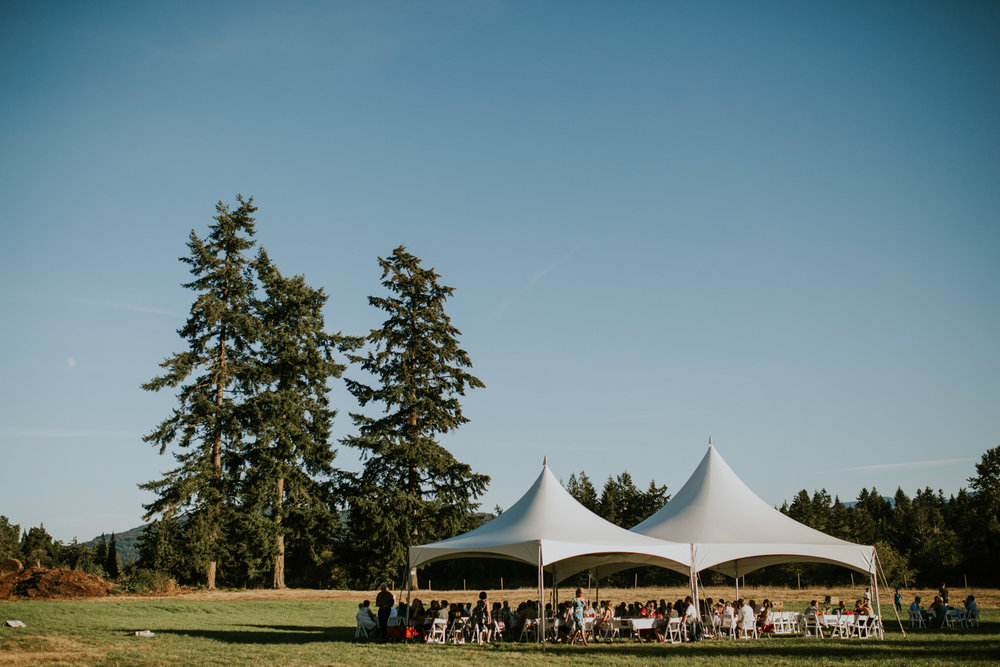 Wedding reception venue The Guild King Francis Park Forest wedding ceremony Vancouver Island