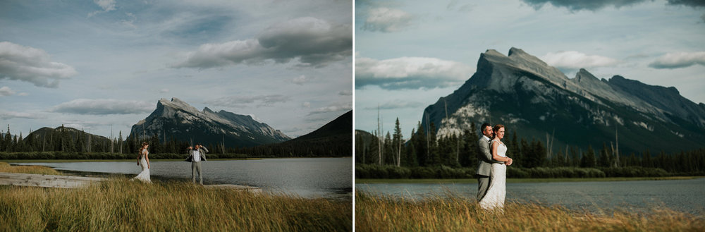 rocky mountain destination wedding - banff alberta - portraits